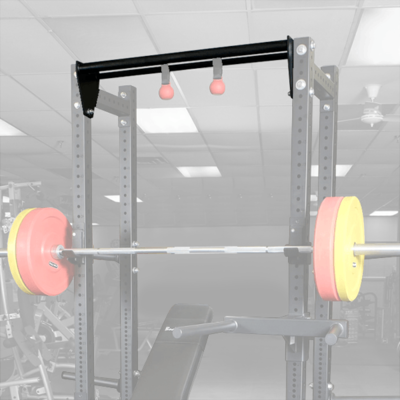 Body-Solid SPRDCB Half Rack Attachment Dual Chin Bar