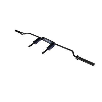 PTessentials SAFETY SQUAT Squat Bar BLACK