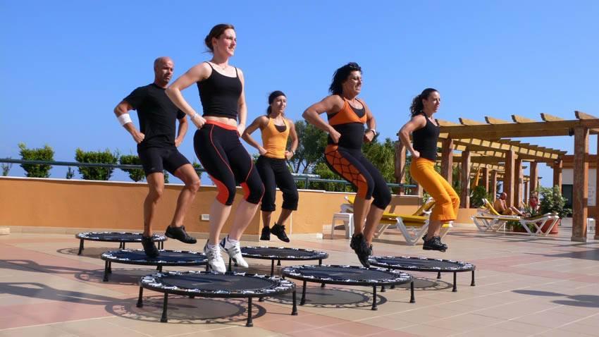 De voordelen van trampoline springen