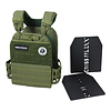 Crossmaxx LMX1901 Crossfit Tactical Vest Army Green