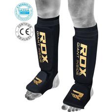 RDX Sports Hosiery Shin Instep Foam Zwart-Goud