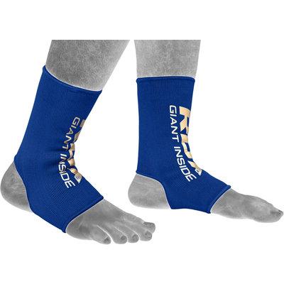 RDX Sports Hosiery Ankle Sleeve - Enkelbeschermer Blauw