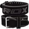 RDX Sports 4PB Suede Leder Powerlifting Riem