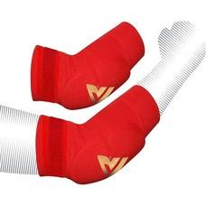 RDX Sports HY Elleboog pads rood