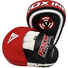 RDX Sports Focus Pads Rex Curve T1 - Rood/Zwart