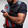 RDX Sports R1 Gewichtsvest - Zwart / Rood - Verstelbaar van 10 tot 18 kg