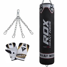 RDX Sports Training Bokszak PB-X1B -  inclusief ketting en zakhandschoenen