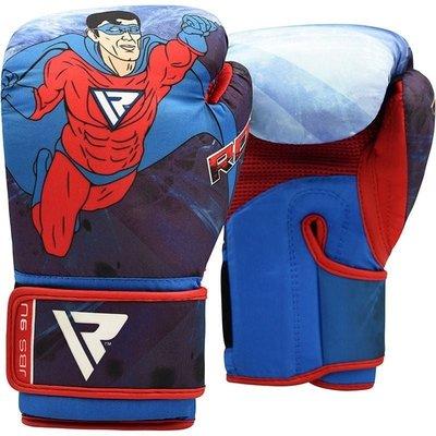 RDX Sports 9U Bokshandschoenen - 6 oz - Superheld print - voor kinderen