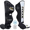 RDX Sports T4 Leren Scheenbeschermers - Incl. Voetbeschermer
