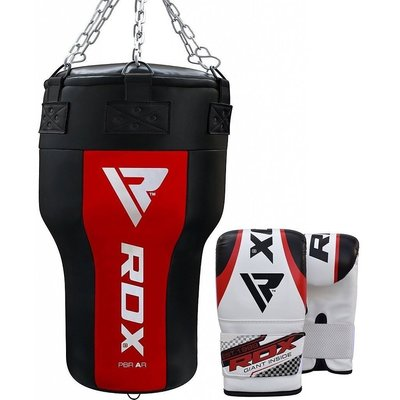 RDX Sports Angle Bokszak + Handschoenen - Incl. Ketting
