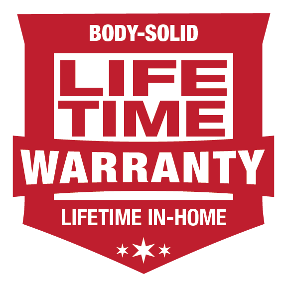 BodySolid lifetime warranty