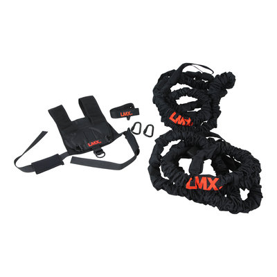 Lifemaxx LMX1272 Cobra Resistance Rope Set