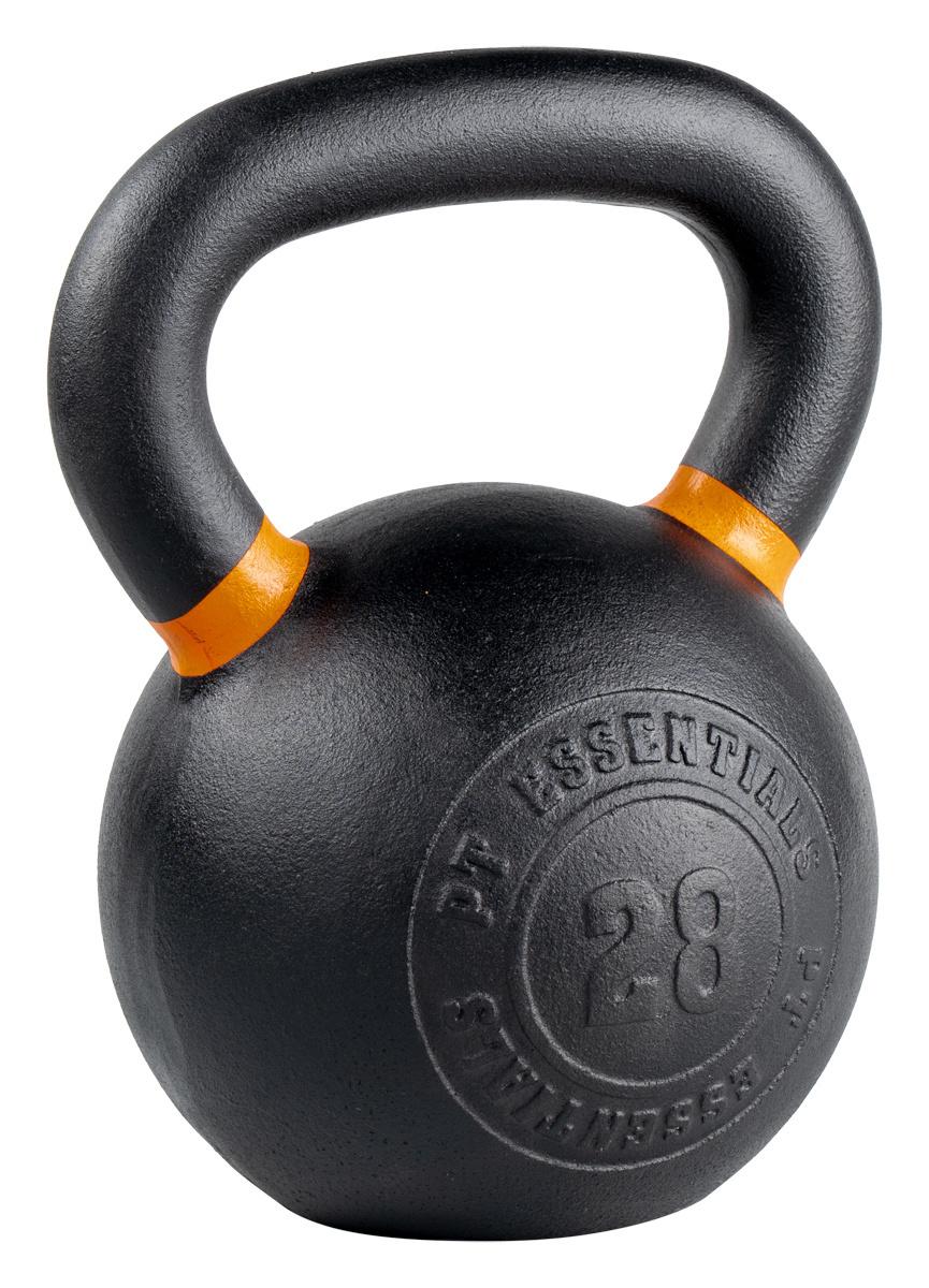 PTessentials Crossfit Kettlebell Poedercoated 28 kg