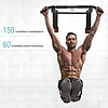Hammer Fitness Pull-Up 2.0 Optrekstang - Pull Up Bar - met lifting hooks en push-up bars