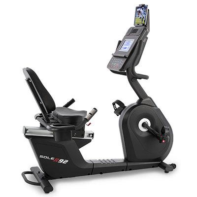 Sole Fitness R92 Recumbent Bike - Ligfiets - Gratis Installatie