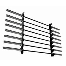 Toorx Wall Barbell Rack - Gunrack voor 8 halterstangen