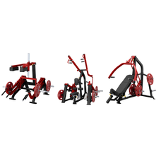 Steelflex Plate Load 2 Combideal - 3 machines - 10% discount