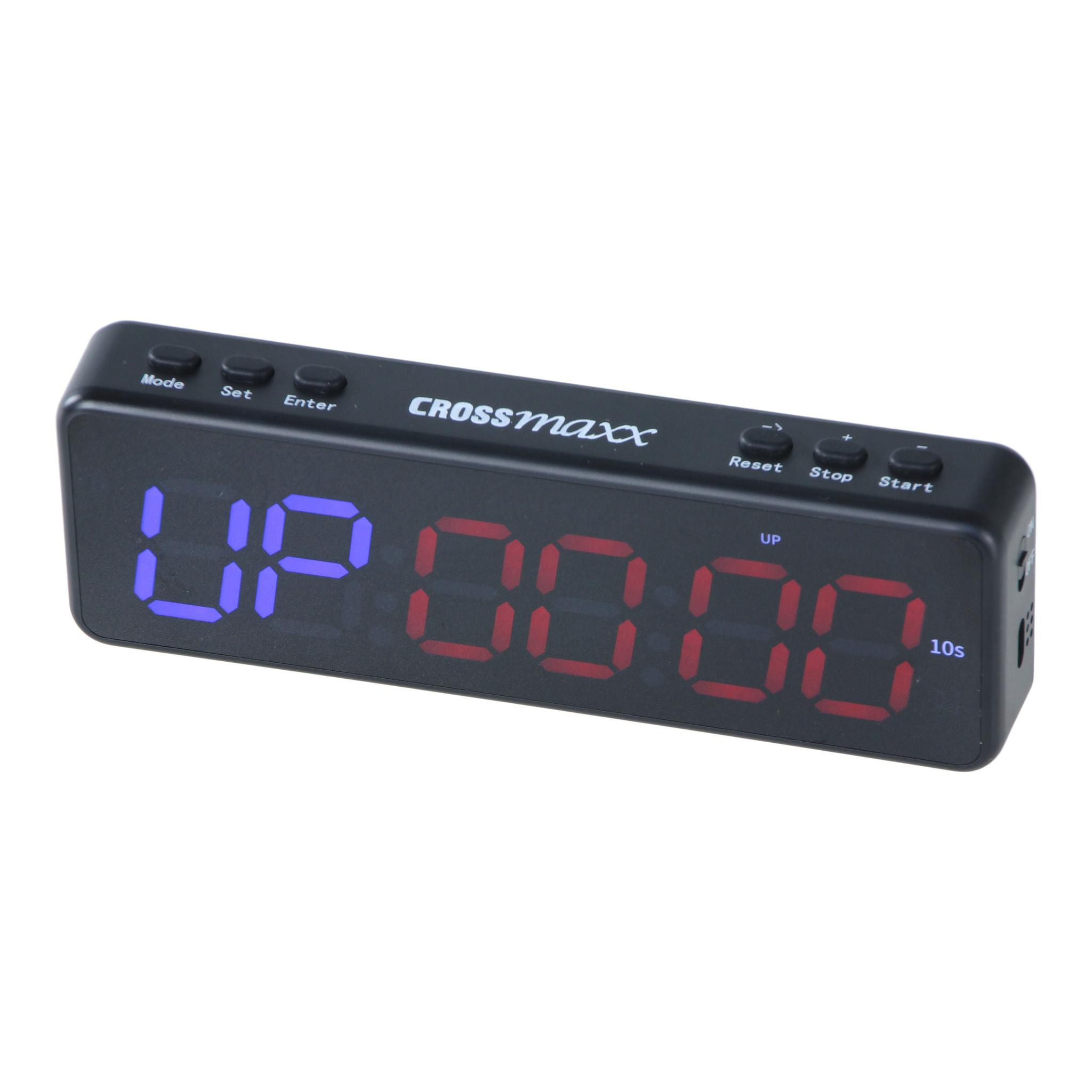 Crossmaxx LMX1296 Mini Interval Timer 6-digit