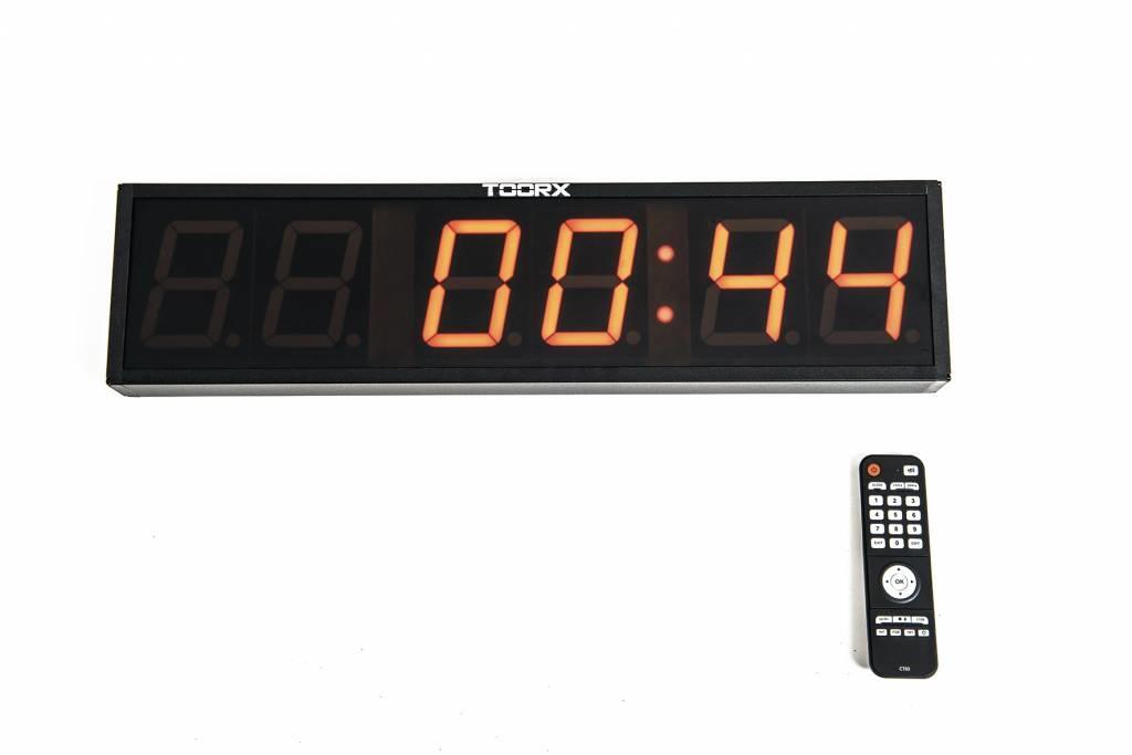 Toorx 6-digit Interval Tabata Fitness Timer - met afstandsbediening