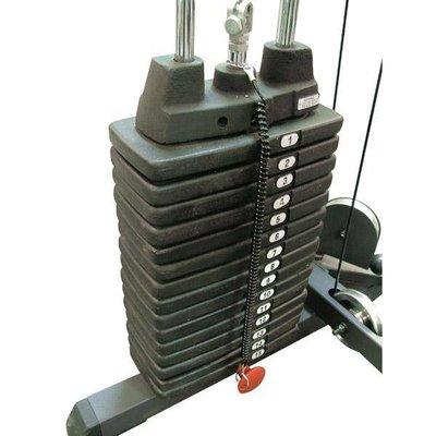 Body-Solid SP200 90 kg gewichtstapel tbv GLA378 en GLA48