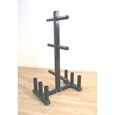 Body-Solid BOWT-6 Bumperplate Tree