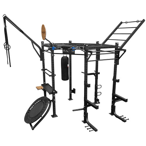 Body-Solid Hexagon Rig System PRO CLUB Package