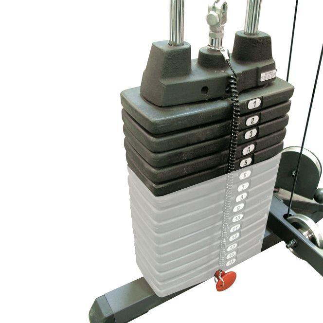 Body-Solid SP50 Extra Gewichten
