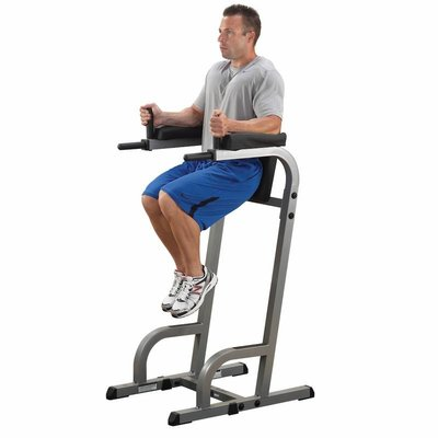 Body-Solid GVKR60 Vertical Knee Raise + Dipping stations