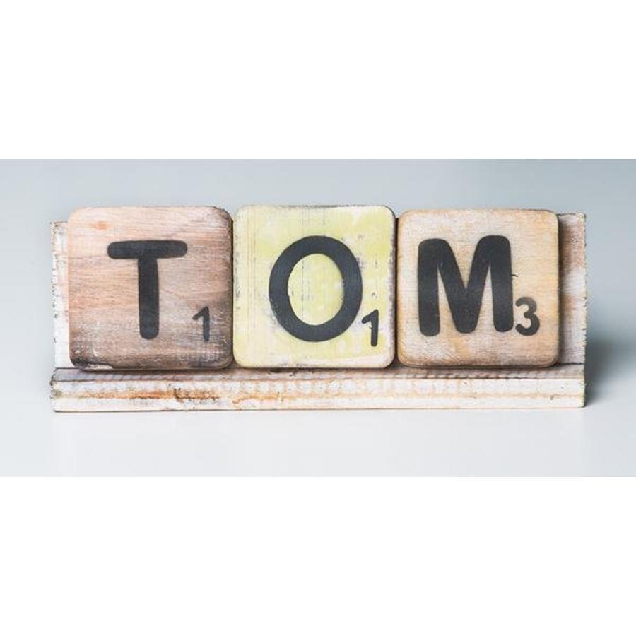 Scrabble letterplank 20cm-2