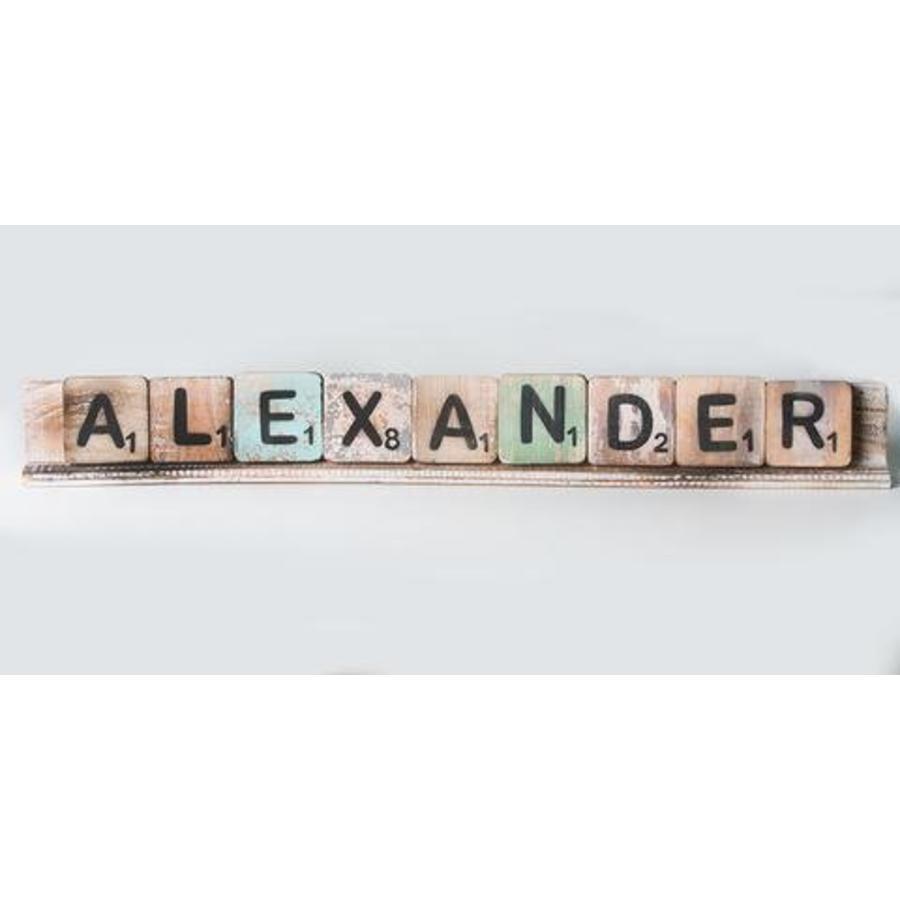 Scrabble letterplank 50cm-3