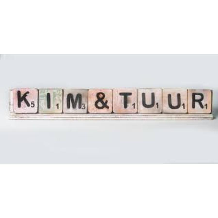 Scrabble letterplank 50cm-4