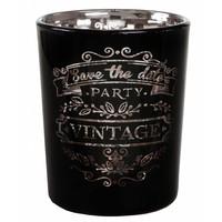 thumb-Theelichthouder Vintage zwart-1