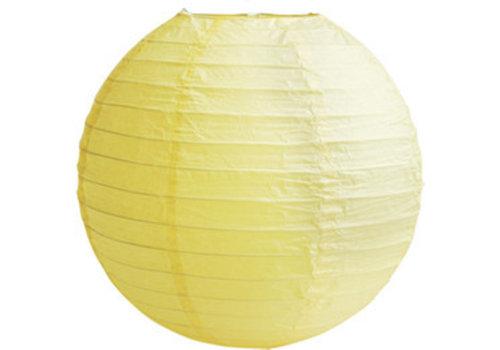 Lampion jaune (2 pièces) diamètre 30 cm