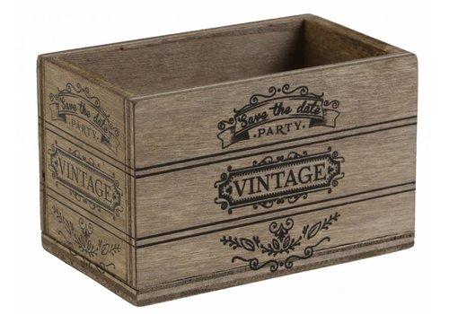 Kistje Vintage (2 st.)
