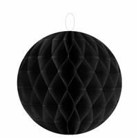 thumb-Papieren honeycombs zwart  20 cm (2 stuks)-1