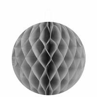 thumb-Papieren honeycombs grijs 20 cm (2 stuks)-1