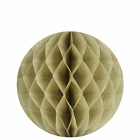 thumb-Papieren honeycombs taupe 20 cm (2 stuks)-1