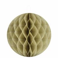 thumb-Papieren honeycombs taupe 30 cm (2 stuks)-1
