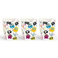 thumb-Popcornbox monster (6 stuks)-3