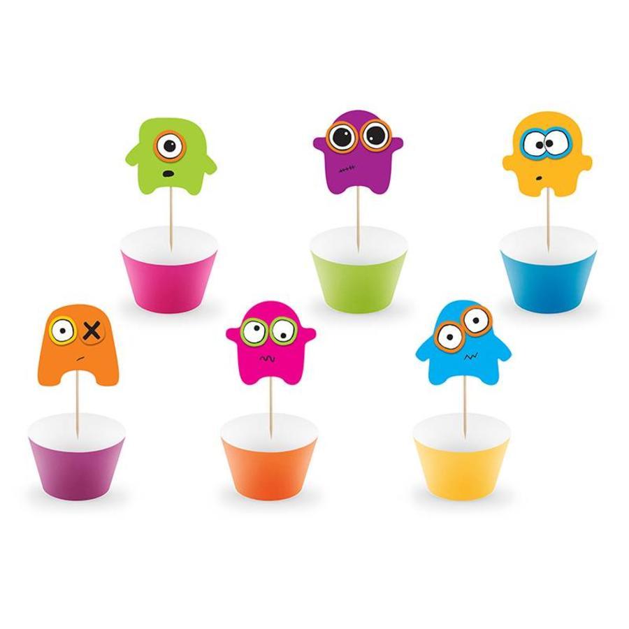 Cupcake Monster set-1