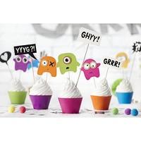 thumb-Cupcake Monster set-5