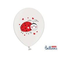 thumb-Ballonnen lieveheersbeestje (6 stuks)-1