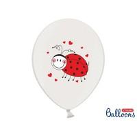 thumb-Ballonnen lieveheersbeestje (6 stuks)-2