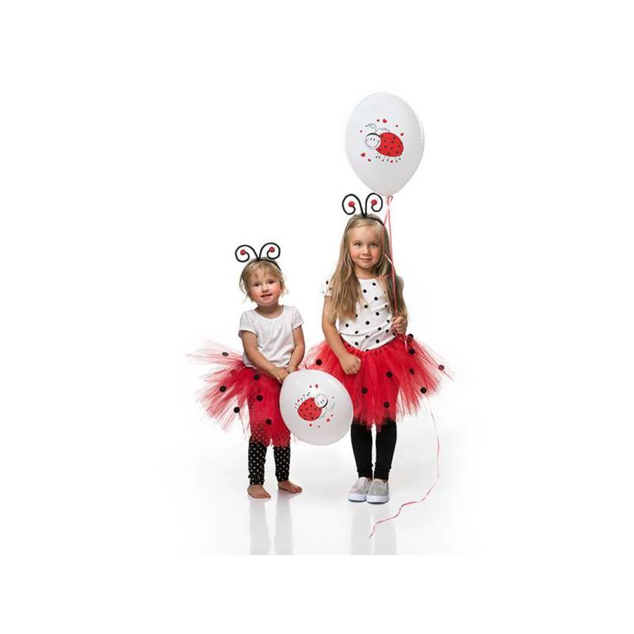 Ballonnen lieveheersbeestje (6 stuks)-3