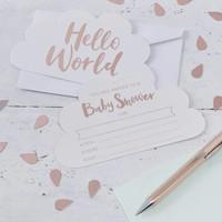 thumb-Advieskaart Hello World (10 stuks)-2