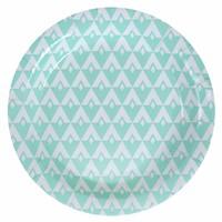 thumb-Bordjes retro mint (10 stuks)-1