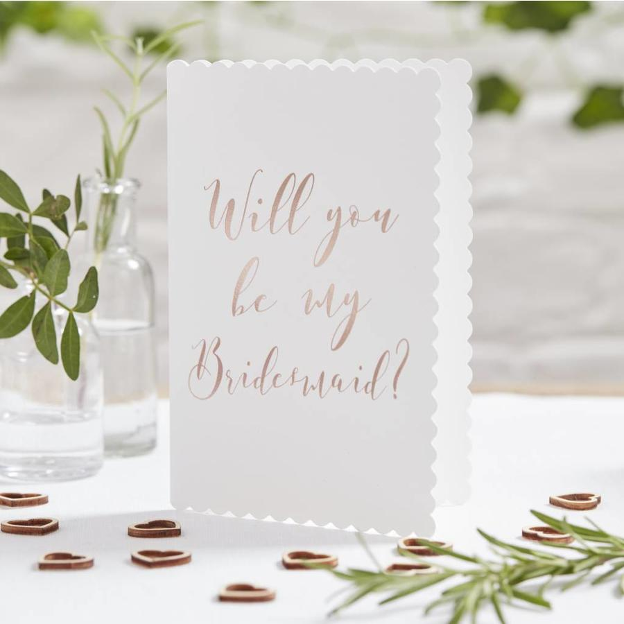 Will you be my bridemaid kaart-2