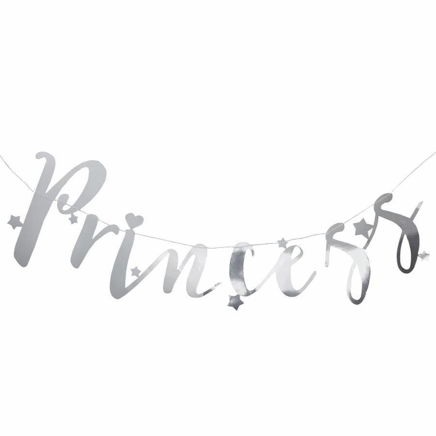 Slinger Princess zilver-1