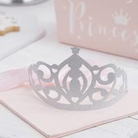 thumb-Kroon Princess zilver (5 st.)-2