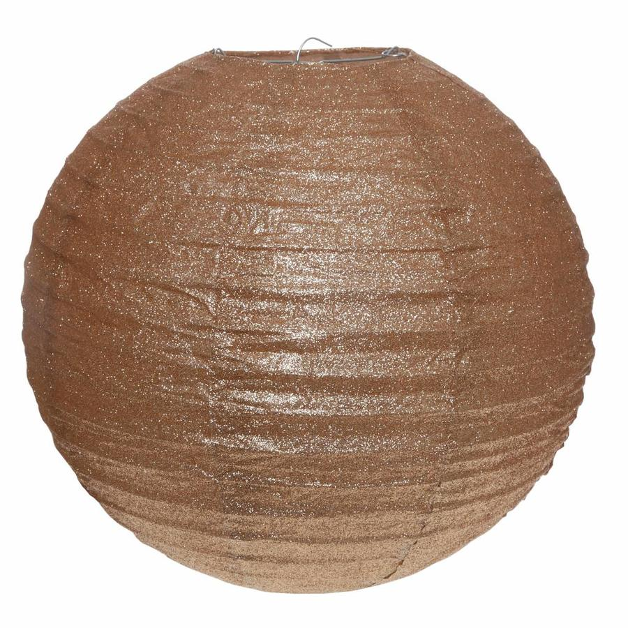 Lampion bronse diamètre 30 cm-1